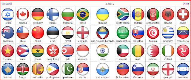 Flag Quiz Level 2