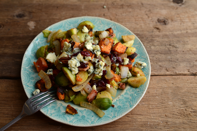 Sweet Potatoes With Blue Cheese And Pecans Recipes — Dishmaps