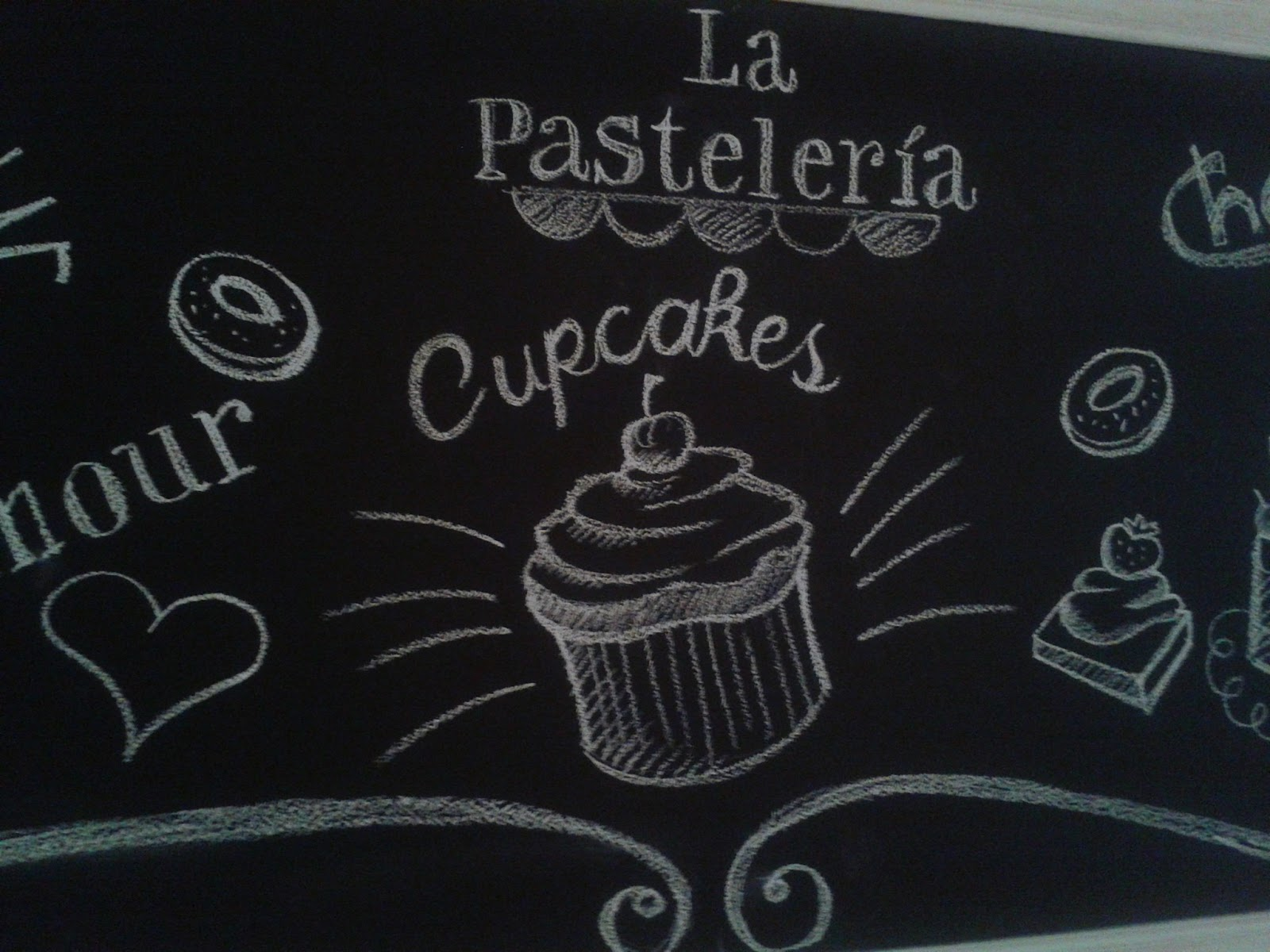 Mariana parrotta ilustraciones sobre pizarras para la - Pizarras de cocina ...