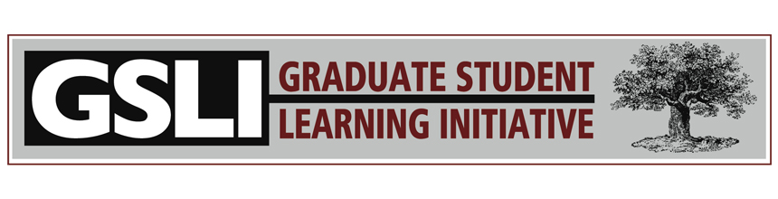 Graduate Student Learning Initiative News