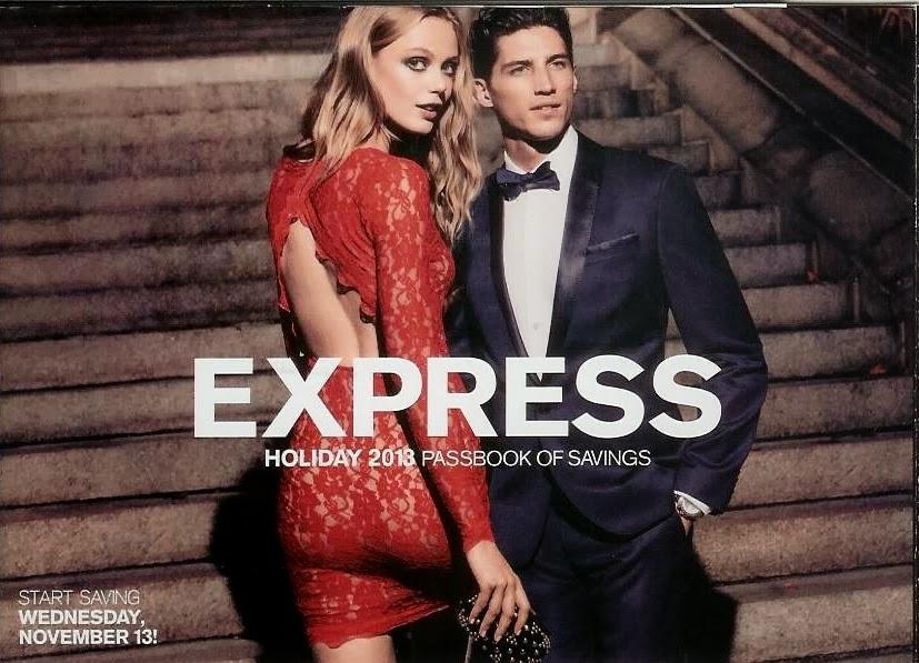 Express Coupon Book, Holiday Passbook of Savings