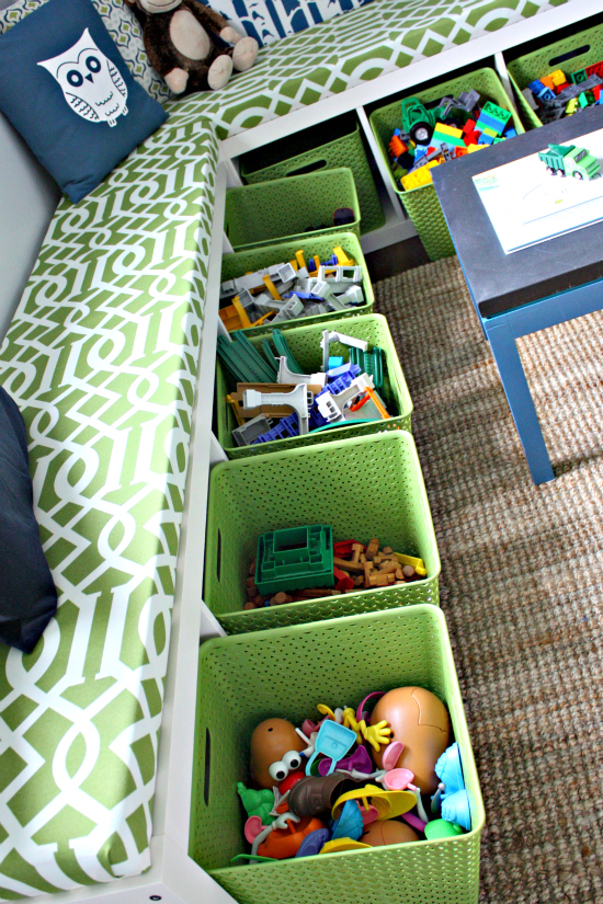 toy organization, how to organize toys, children's toys, containers, organization