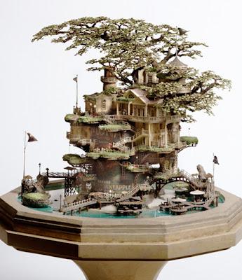 Wonderful Bonsai Tree Houses Art ~ AMAZING-