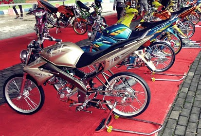 Foto Modifikasi Motor Yamaha V Ixion  Modifikasi Motor Yamaha 2016