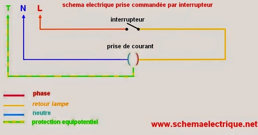 Schema electrique - Schema va et vient electrique ...