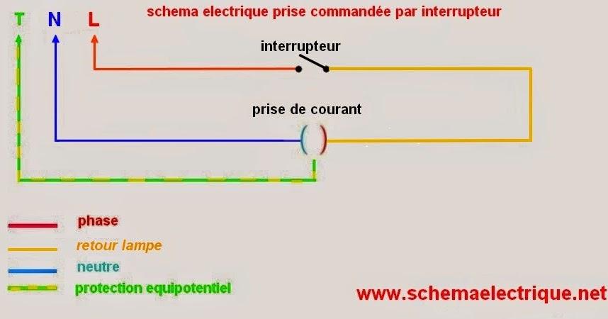 Schema electrique - Branchement detecteur de mouvement avec interrupteur ...