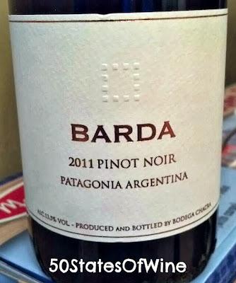 Bodega Chacra Barda Pinot Noir 2011