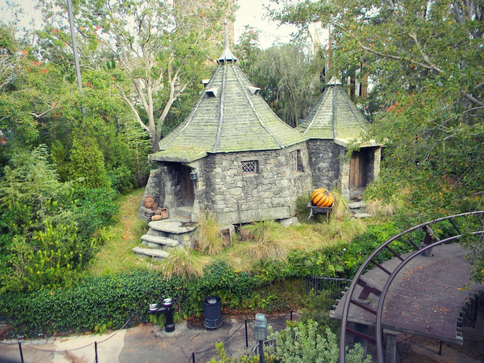 Harry potter and the rest of universal studios insert What house was hagrid in
