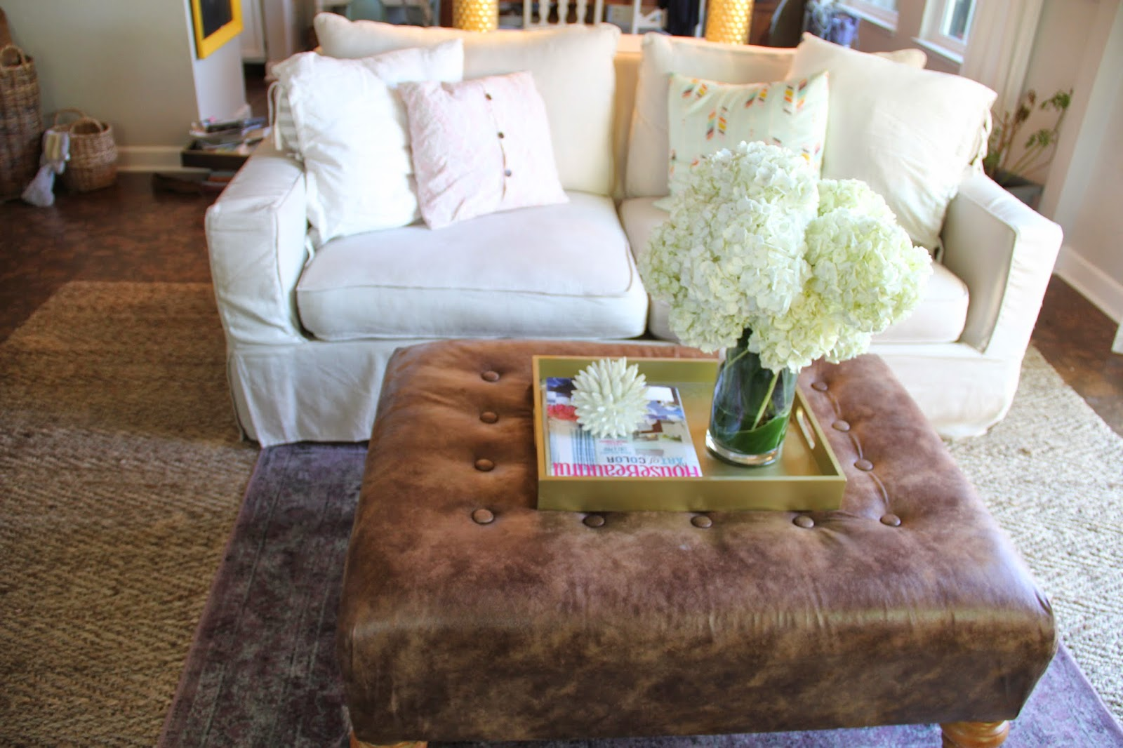 Hey little momma and now an ottoman coffee table and now an ottoman coffee table geotapseo Gallery