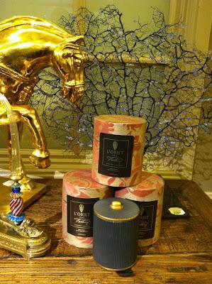 Gilded Venetian Glasses Spirit Amber