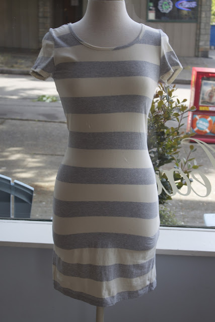Striped Dress. Add a little pattern to your daily look with a striped dress. This classic print is the perfect design for many occasions, whether you're keeping it casual or need something more polished.
