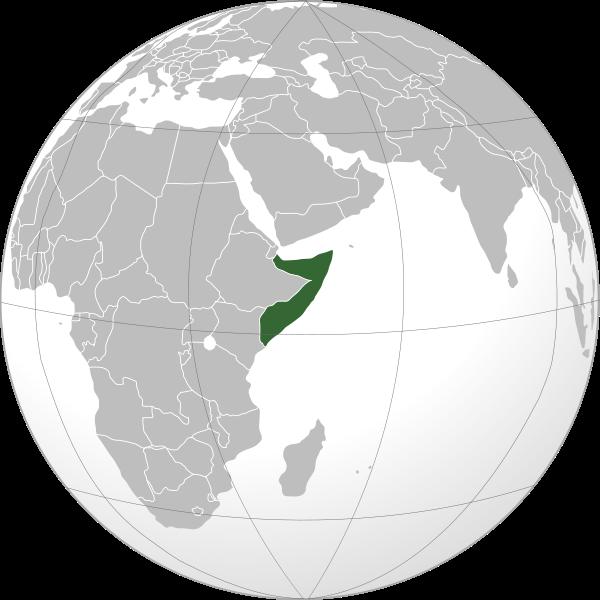 Globo Terráqueo Somalia