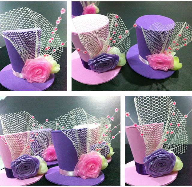 Bunay's Little Corner: Fun DIY: Mini Top Hat Headpieces