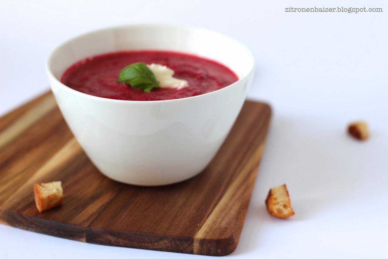 Rezept Rote Bete Zitronenbaiser Foodblog Suppenglück