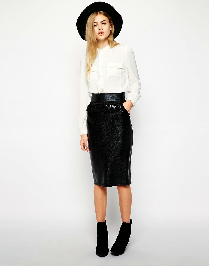 sister jane black skirt