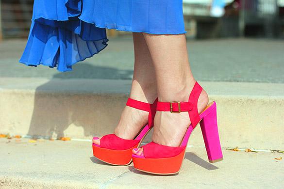 Tony Bianco Pink Platform Heels