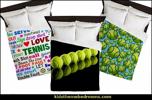 Tennis Bedding Tennis Themed Bedding Tennis Theme Bedroom Decorating Ideas