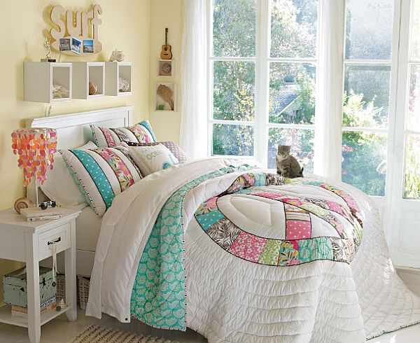 30 room design ideas for teenage girls interior for Bedroom ideas for teenage girls 2012