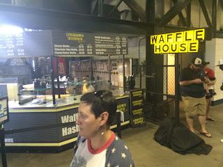 Waffle House Inside Turner Field