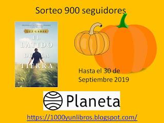 SORTEO 900 SEGUIDORES
