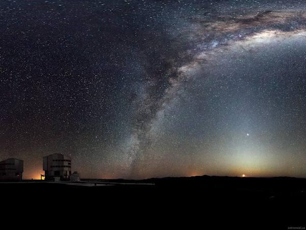 Cara Membedakan Cahaya Bintang dan Planet di Malam Hari