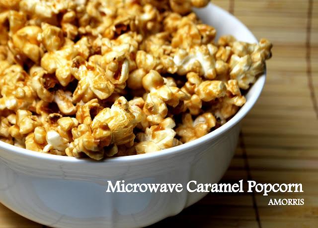Amorris: Microwave Caramel Corn