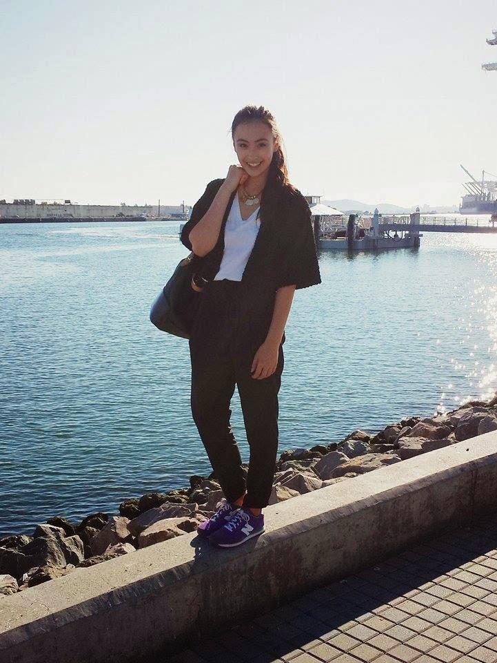 beach, boat, boats, port of oakland, oakland, jack london square, vsco cam, fashion, style, audrey sides, bay area, san francisco, water, ocean, sf fashion blogger, fashion blog, fashion blogger, blogger, wasian, japanese, bolero jacket, forever 21, new balance,