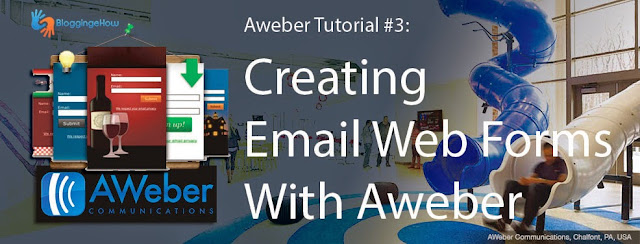Aweber Tutorial #3: Creating Email Web Forms