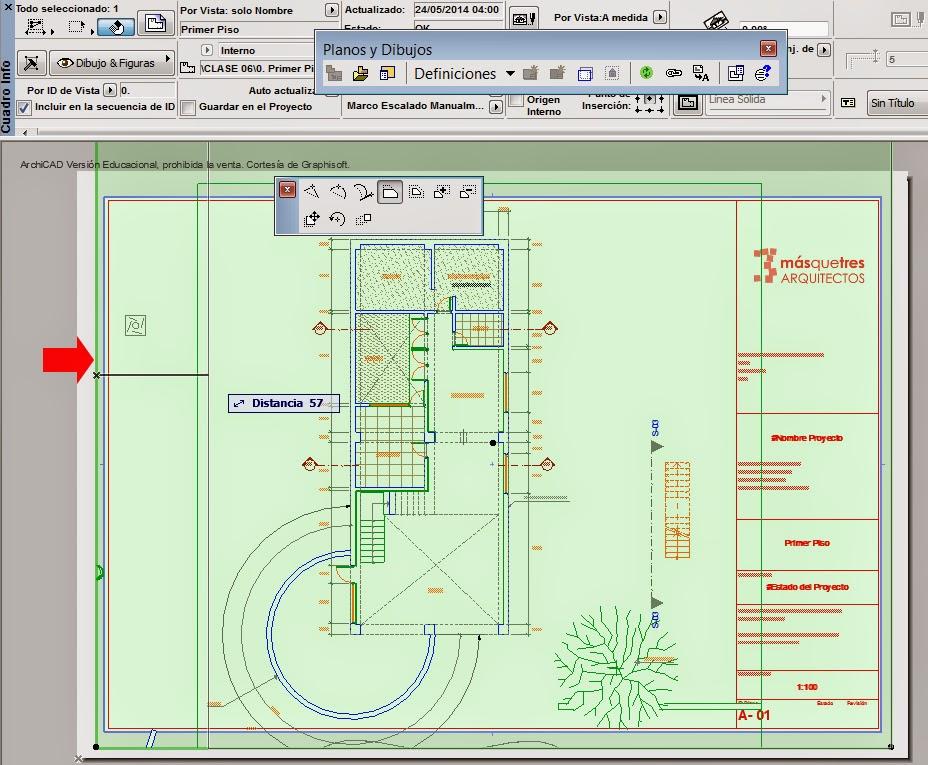Impresi n de planos en archicad archicad 22 artlantis ps for Pie de plano arquitectonico pdf