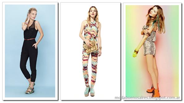 Moda verano 2013 indumentaria femenina.