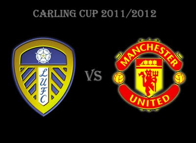 Leeds United vs Manchester United Carling Cup Third Round