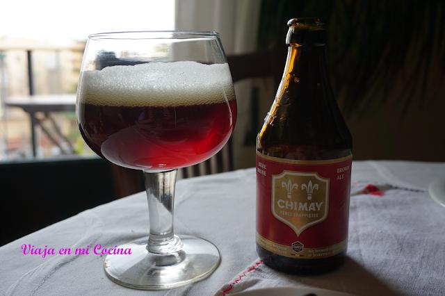 Cerveza belga Chimay