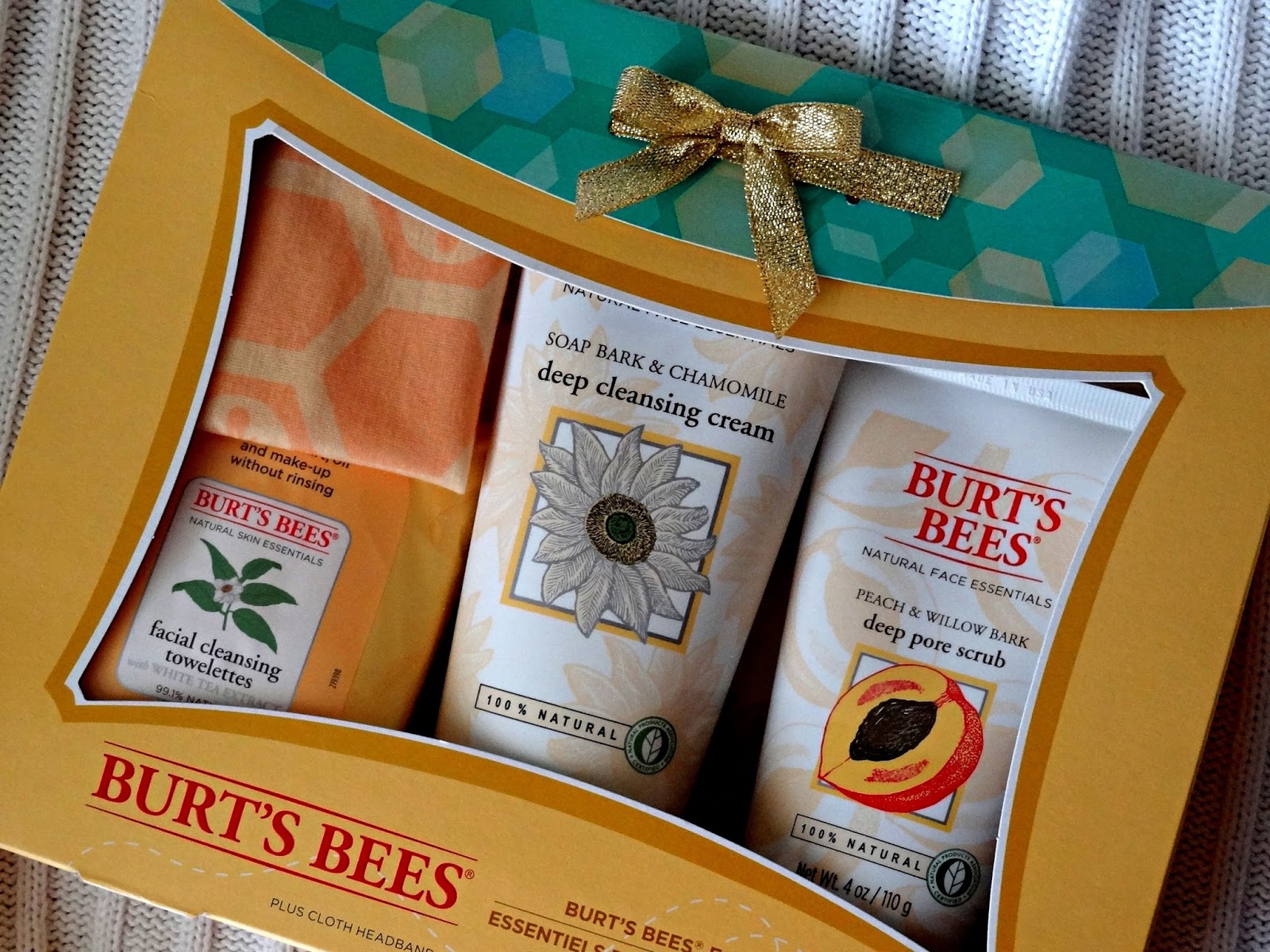 Burt's Bees Face Essential kit