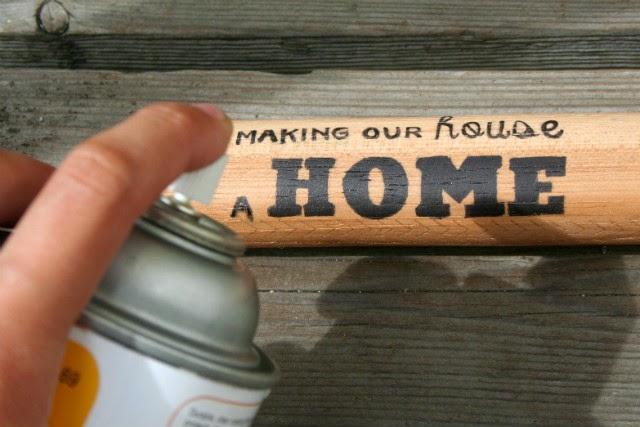 """Get Hammered"" Housewarming Gift // Step 5"