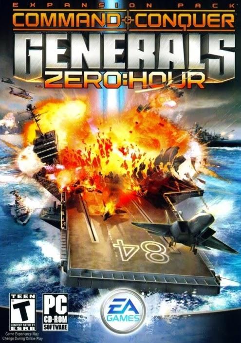 اللعبة  كوماند جنرال Command & Conquer Generals Zero Hour كاملة مع الكراك ,  لعبة Command and Conquer Generals Zero Hour كاملة , لعبه Generals Zero Hour مع الكراك ومرفوعه علي الخليج , تحميل لعبه الجنرالات Command & Conquer Generals Zero Hour كامل مع الكراك