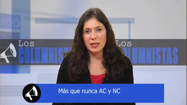 """[VIDEO] Presidenta Javiera Olivares en Radio Bío Bío: """"Más que nunca AC y NC"""""""