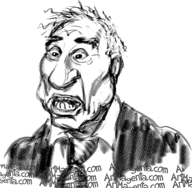Mel Brooks is a caricature by caricaturist Artmagenta