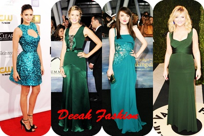 Trend Baju Hijau Populer 2013