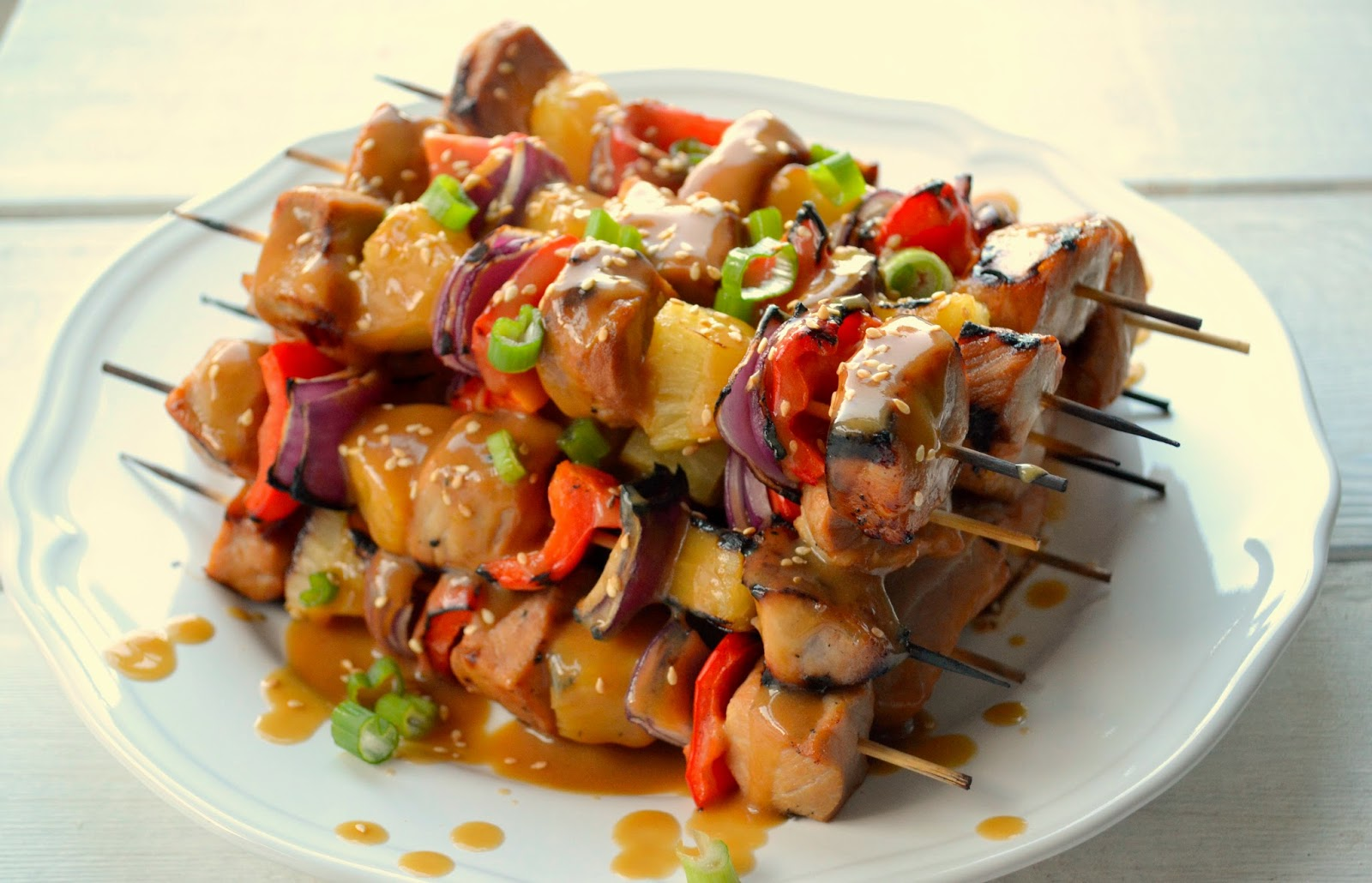 pork pineapple skewers makes 12 skewers 1 1 2 lb 675 g boneless pork ...