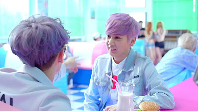 Teen Top Chunji in Ah Ah MV
