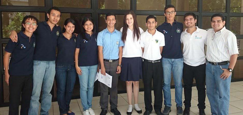 Grupo Olímpico de Física El Salvador.