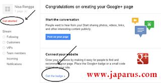 cara buat Artikel atau postingan ada bintang lima di pencarian google