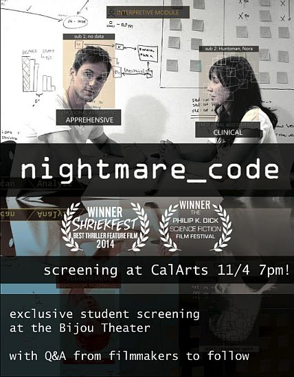 Nightmare Code screening