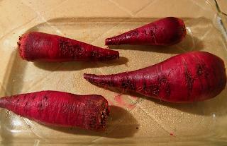 Beets in Roasting Pan