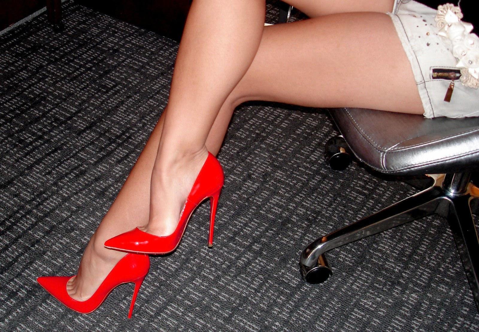 Cerise Pink High Heels