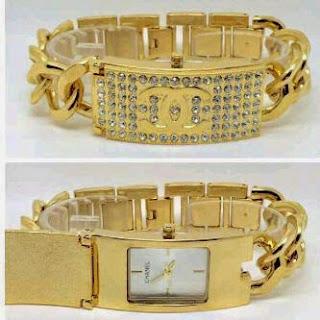 Jam Tangan Chanel Buka Tutup A435 Silver