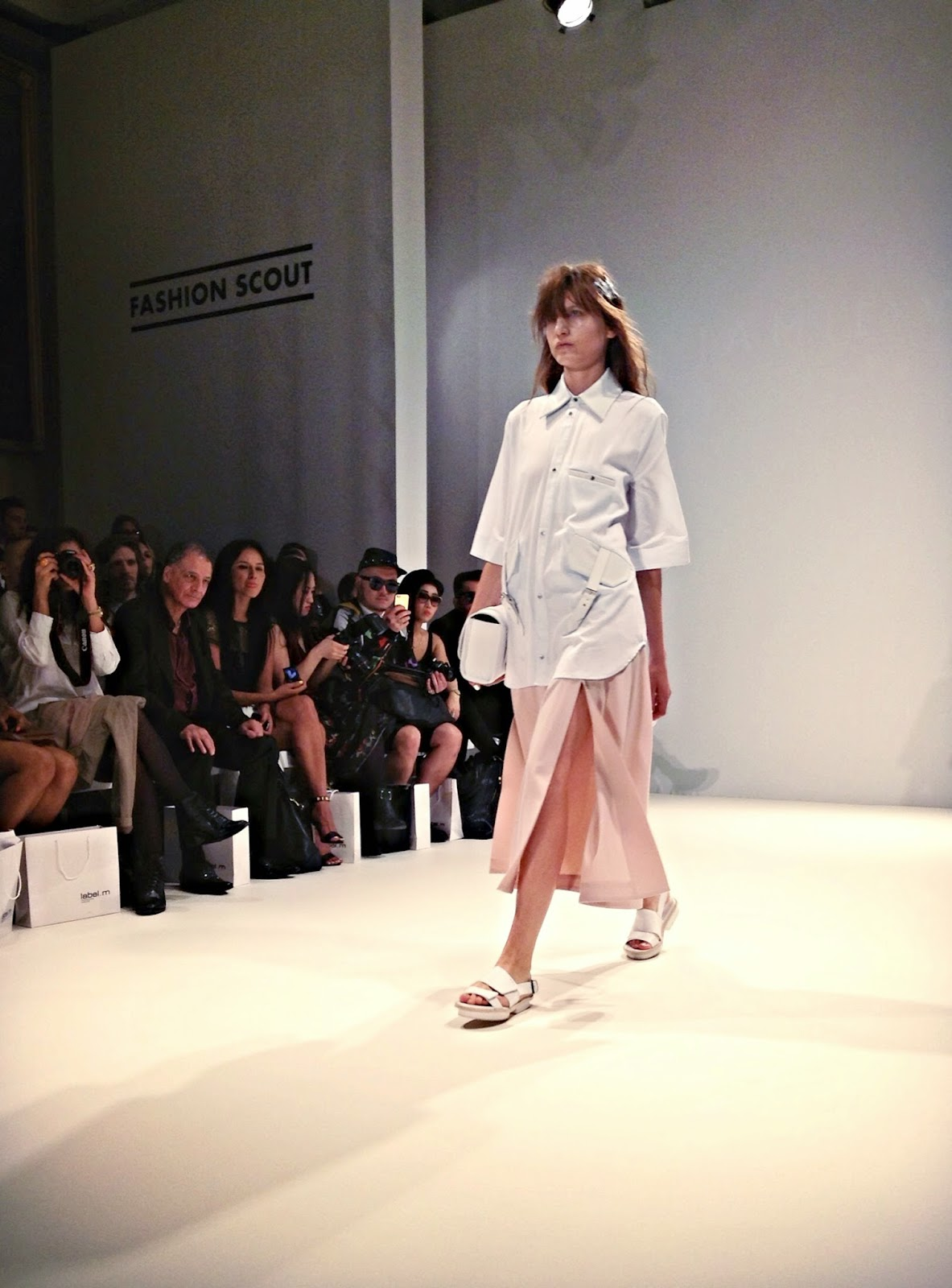 Jamie Wei Huang SS15 collection LFW fashion scout