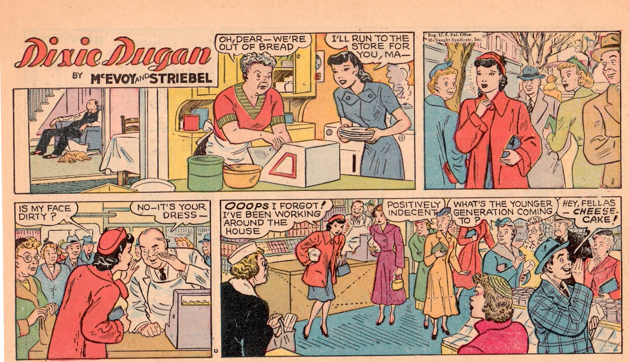 Dixie dugan comic strip
