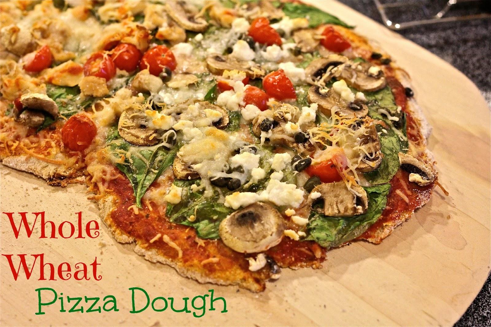 Fresh Whole Wheat Pizza Crust