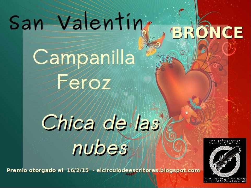 Bronce - Concurso de Relatos de San Valentín - El Círculo de Escritores
